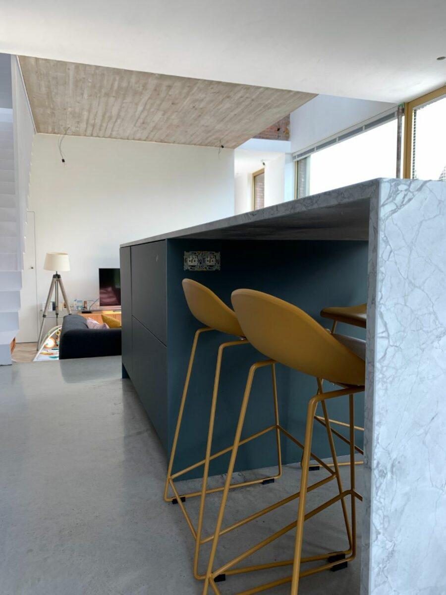 Keuken in Fenix Verde Comodoro